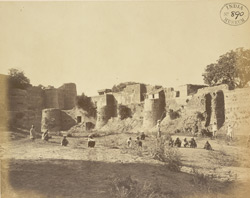 Fort at Gohad.